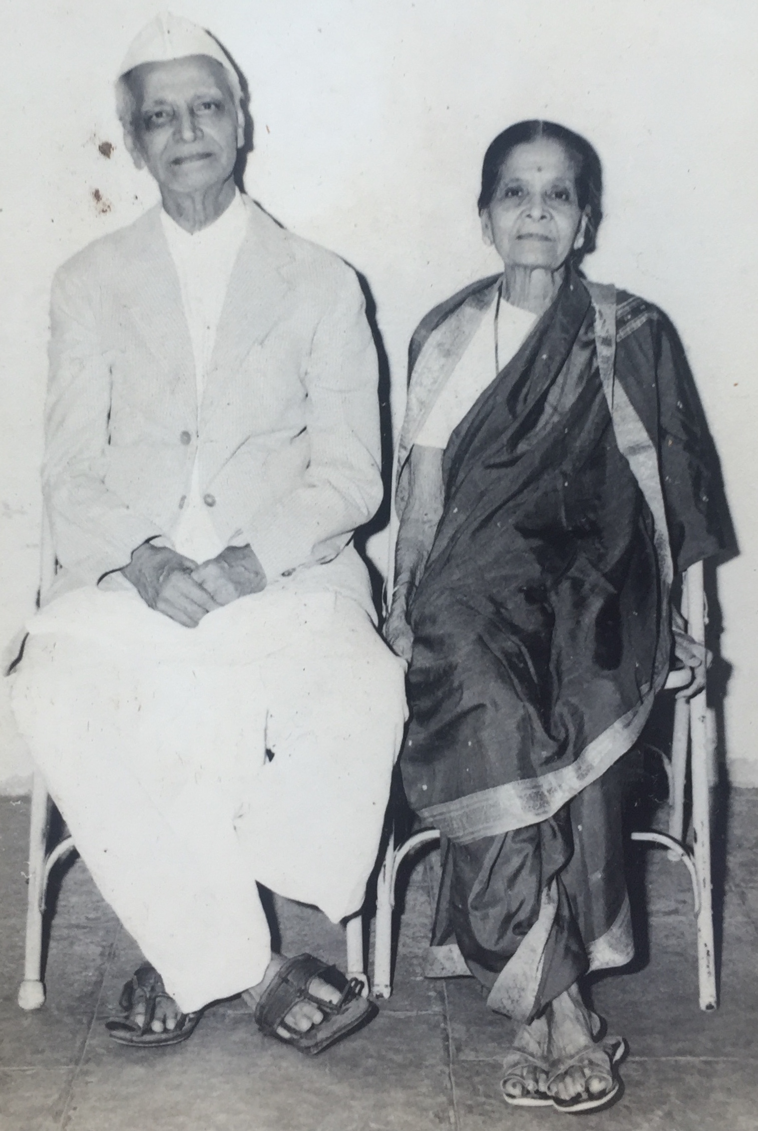Vi Pra and Tarabai Limaye 1979