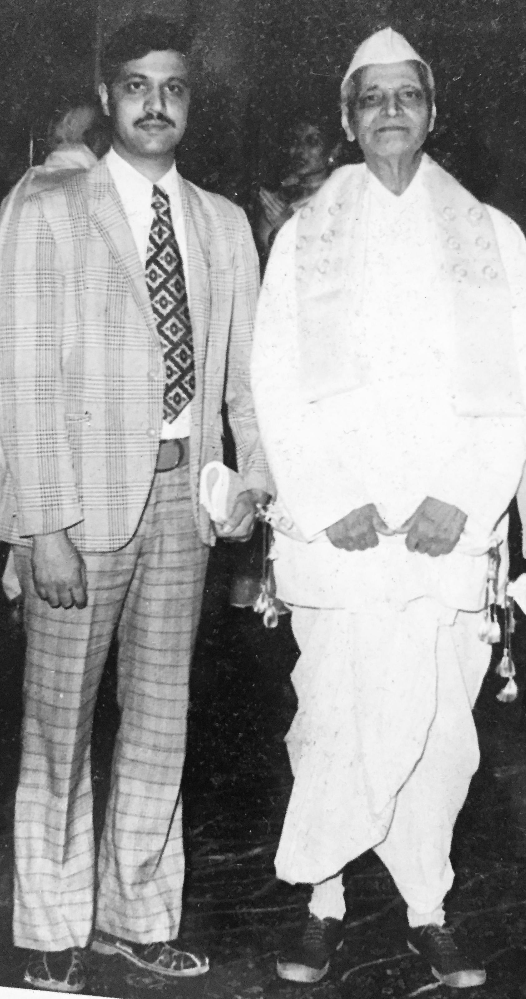Vi Pra and Balmohan Limaye in Delhi