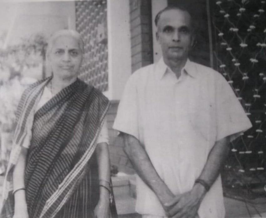 Prof. D. V. Kerkar & Sumitrabai Kerkar
