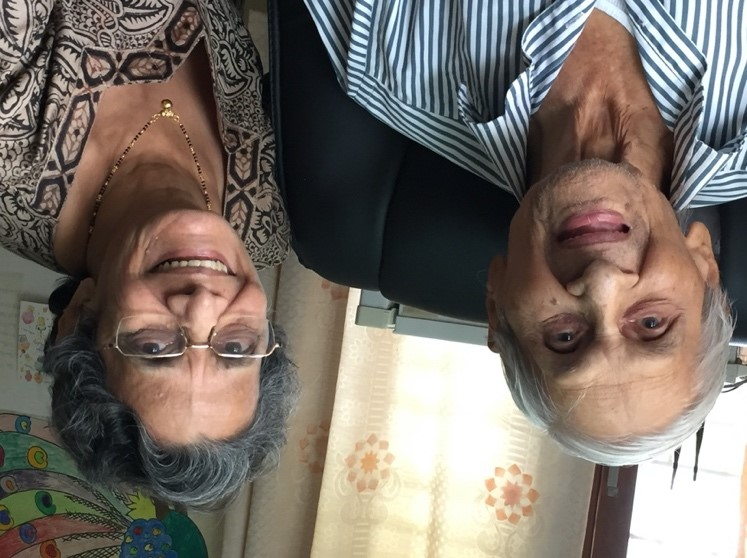Prof. Shrikhande & Nirmala Limaye, 2017