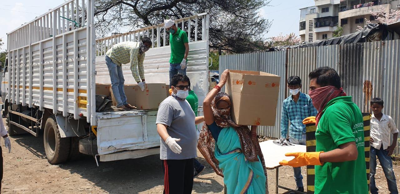 Food distribution १०