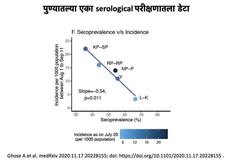 Serological survey - Pune