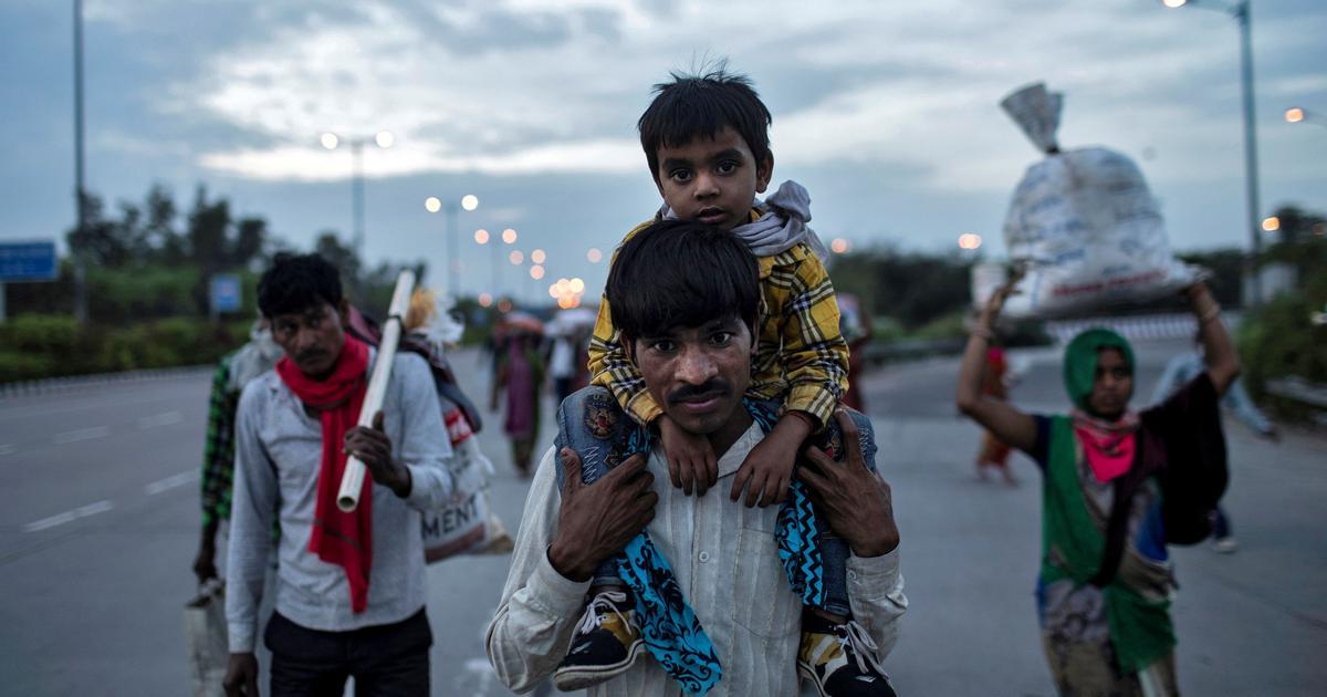 Migrants in Lockdown - Danish Siddiqui