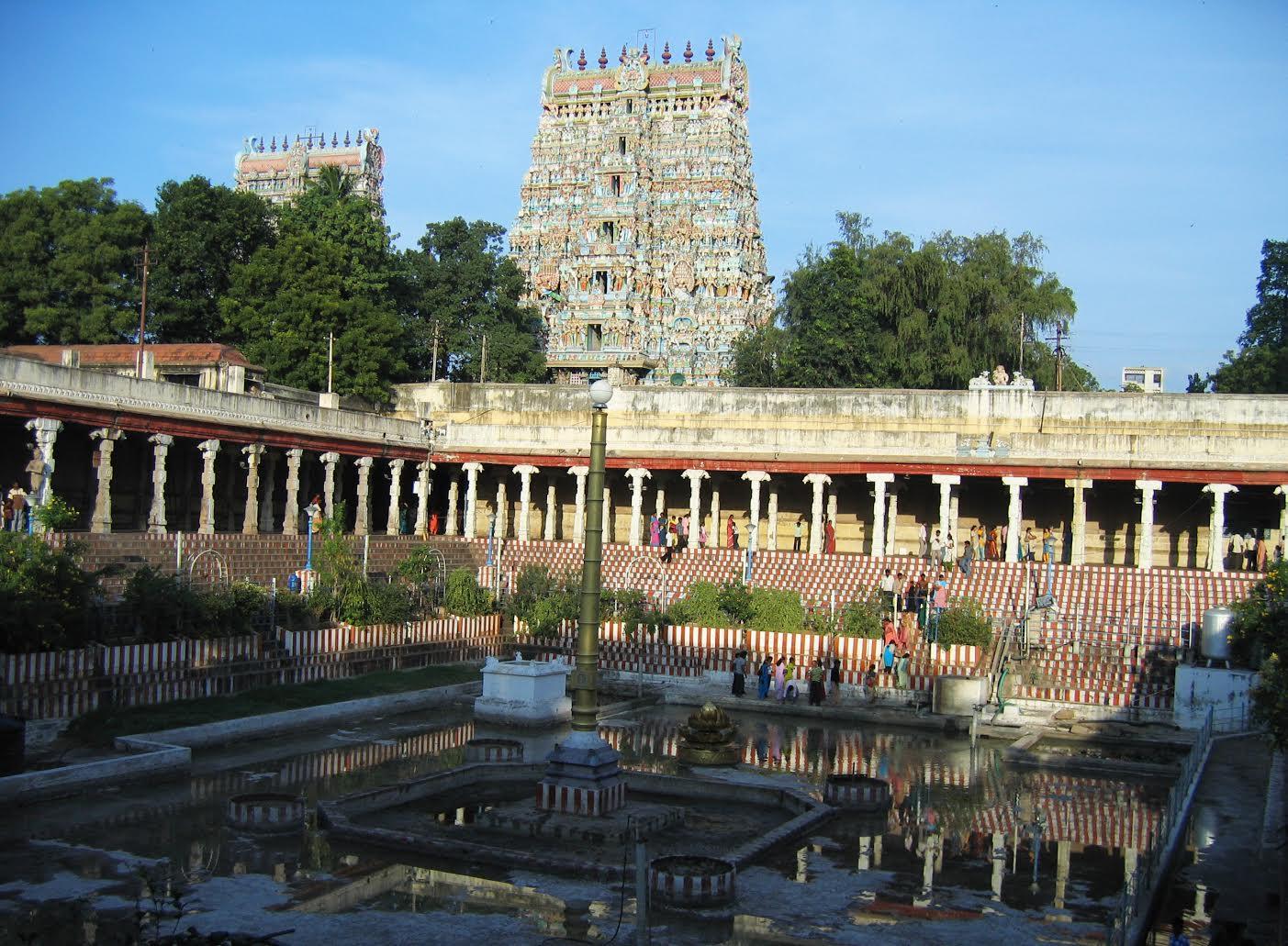 मदुरैचं मीनाक्षी मंदिर
