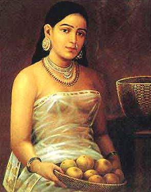 रविवर्मा स्त्री चित्र
