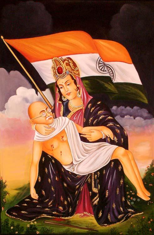 गांधीजी भारतमाता
